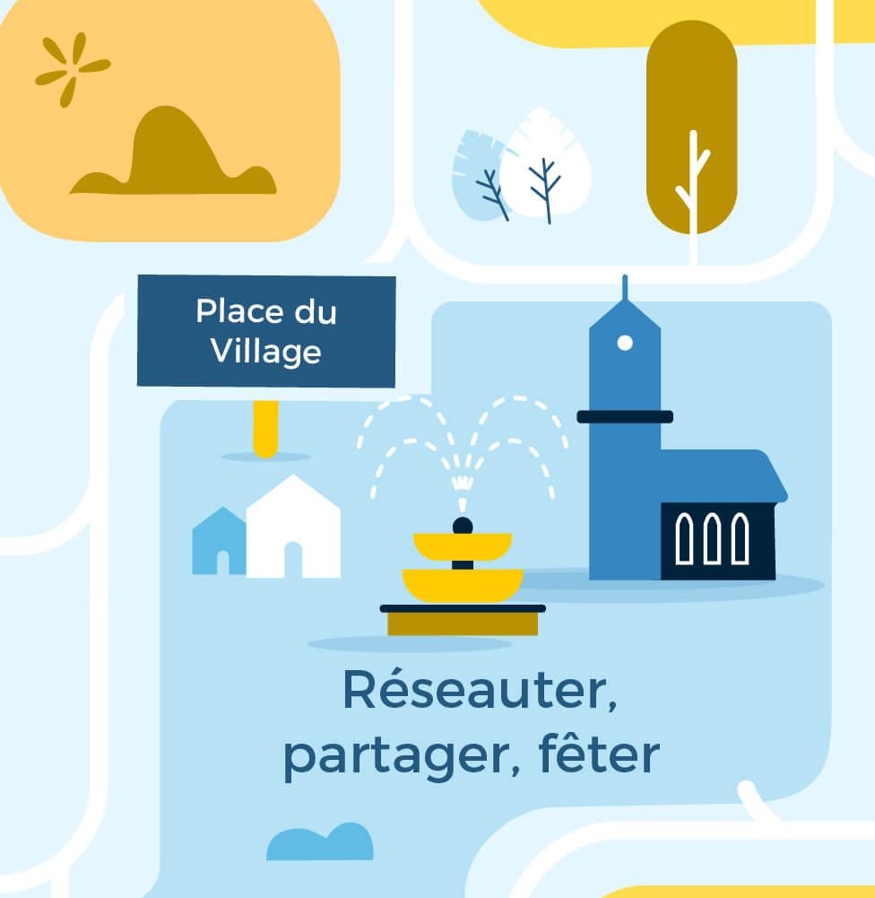 Entreprises-Place-du-Village-Reseauter-Partager-Feter