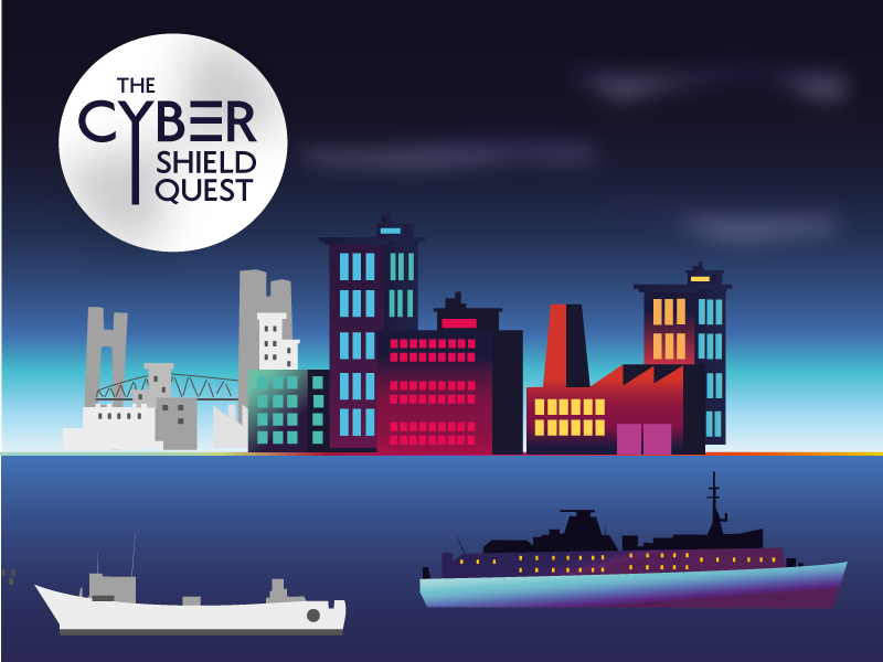 THE CYBER SHIELD QUEST 2019