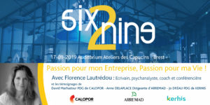 Six2Nine September 17th – Passion for my Business, Passion for my Life