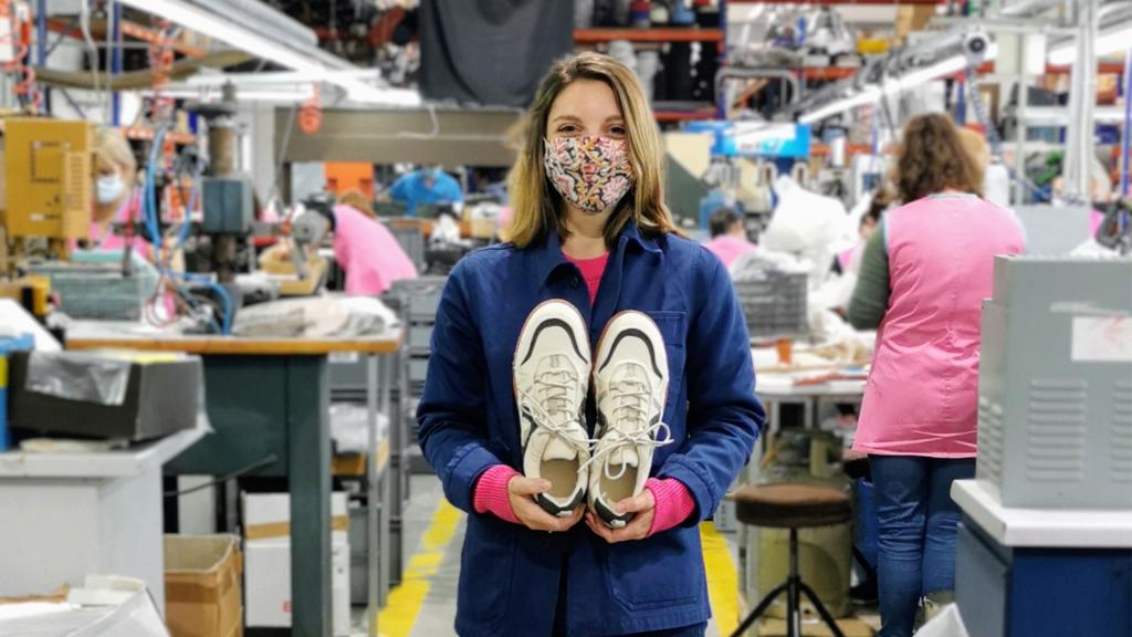 Au coeur des tendances de sneakers Umòja : rencontre avec Marion Clément.