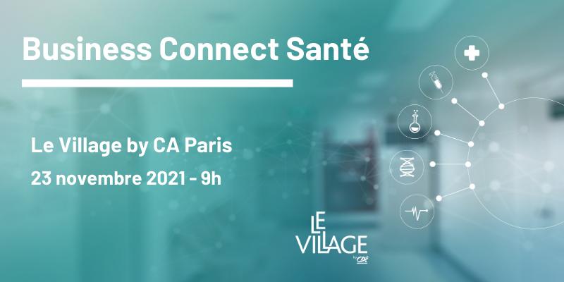 Business Connect Santé – 23 novembre 2021